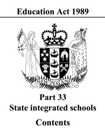 Education Act 1989 Part 33